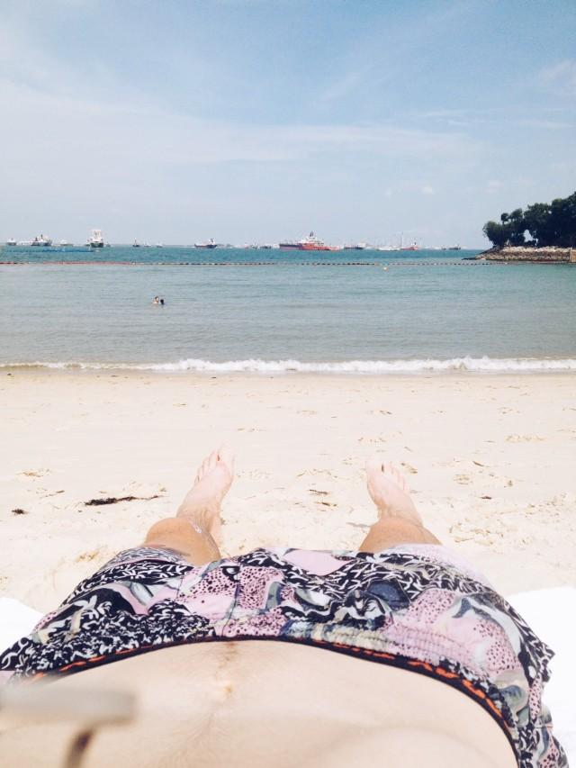 singa beach